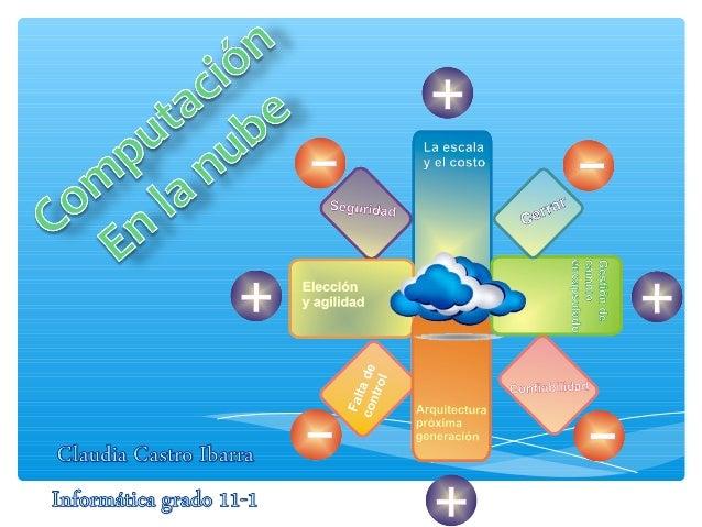 es un nuevo modelo de prestación de servicios de negocio y tecnología, que permite incluso al usuario acceder a un catálog...