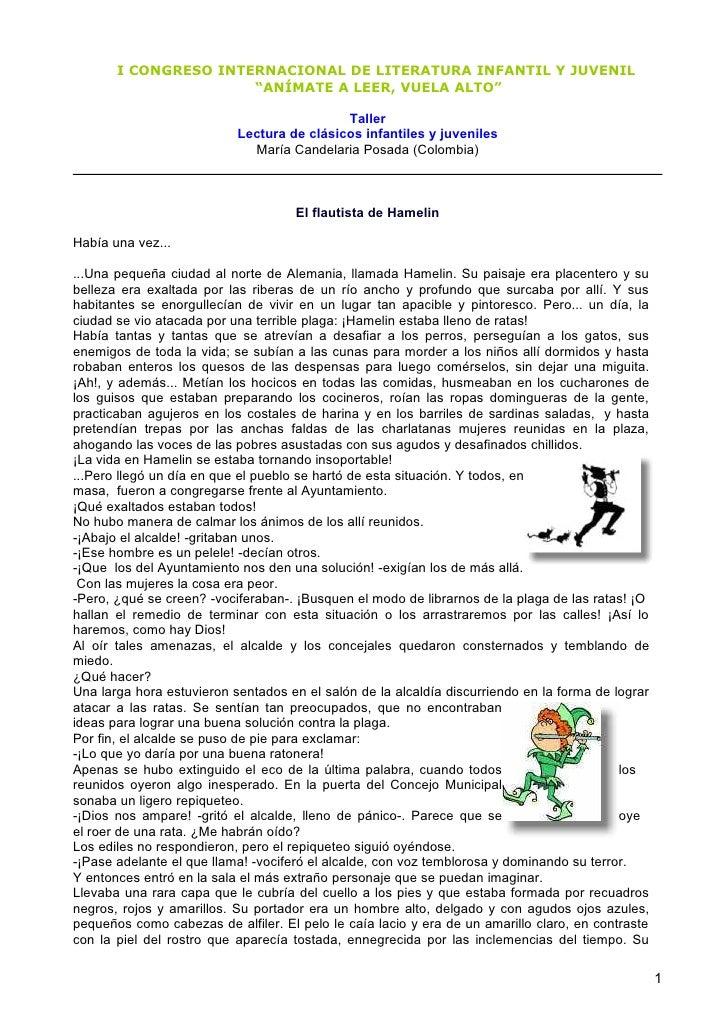 """I CONGRESO INTERNACIONAL DE LITERATURA INFANTIL Y JUVENIL                       """"ANÍMATE A LEER, VUELA ALTO""""              ..."""