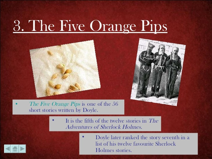 the five orange pips questions