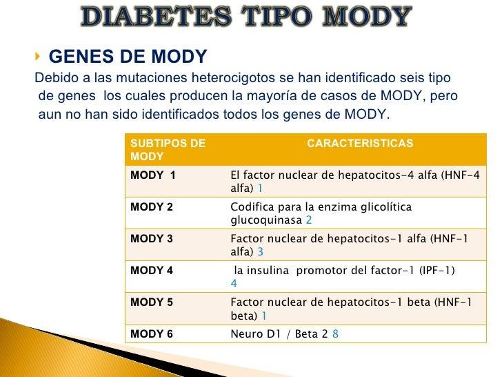 gen de la diabetes glucoquinasa mody