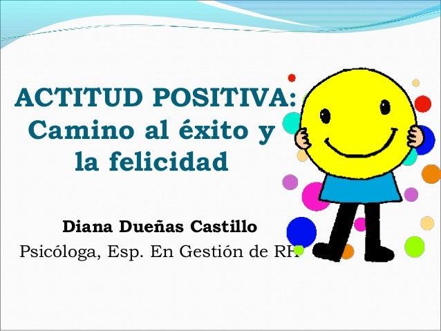 Actitud positiva for Porte y actitud