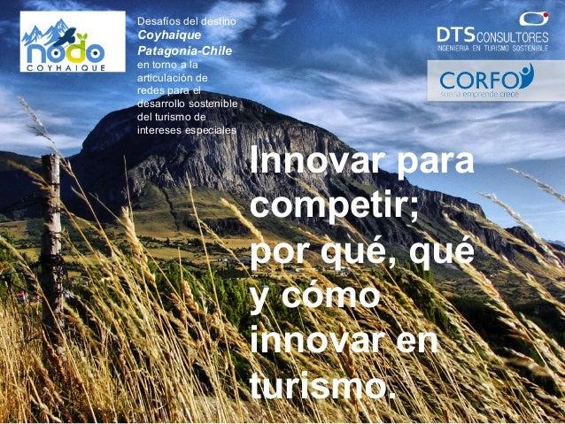 Desafíos del destino Coyhaique Patagonia-Chile en torno a la articulación de redes para el desarrollo sostenible del turis...