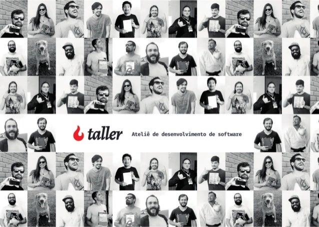 Taller - Ateliê de desenvolvimento de software