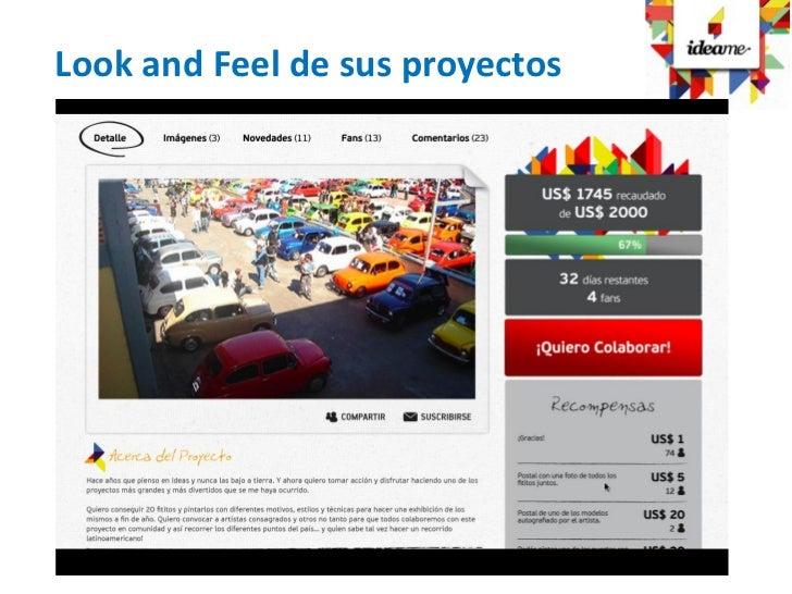 Look and Feel de sus proyectos