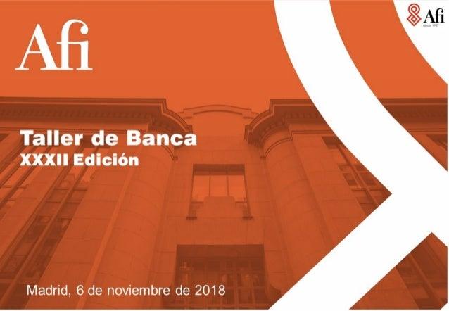 Taller de Banca Afi - Edición XXXII