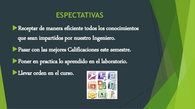 ESPECTATIVAS COMPUTACION AVANZADA Slide 3