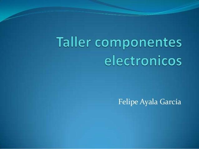 Felipe Ayala García
