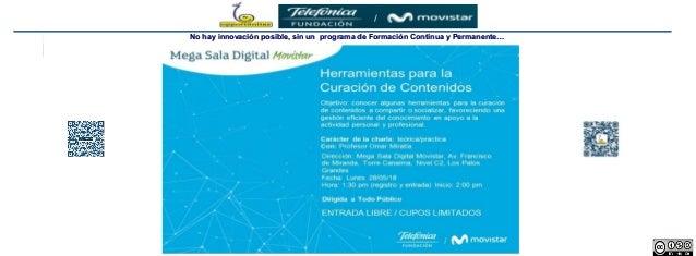 1 Dr. Omar Miratía No hay innovación posible, sin un programa de Formación Continua y Permanente…