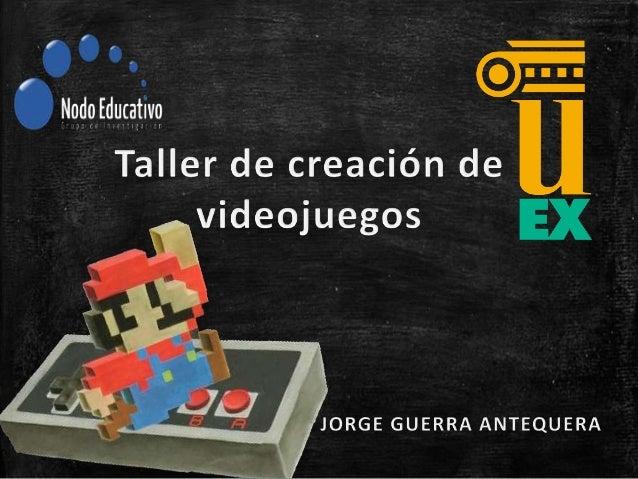Índice • Historia de los videojuegos • ¿Qué es un videojuego? • Old School versus New School • Juegos educativos=Aburrimie...