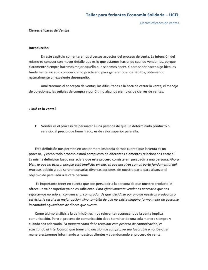 Taller para feriantes Economía Solidaria – UCEL                                                                          C...