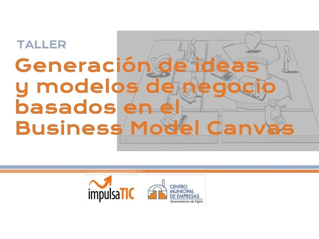 Modelos negocio y Business Model Canvas