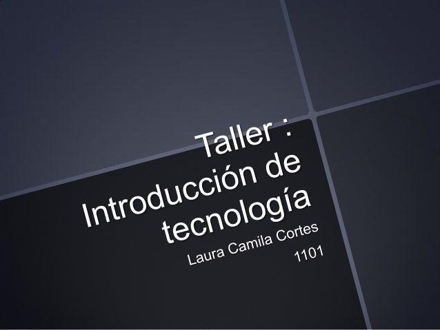 TECNOLOGIA                             Es la                            APLICACION                                de   Tec...