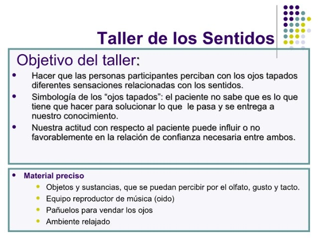 Taller de los_sentidos
