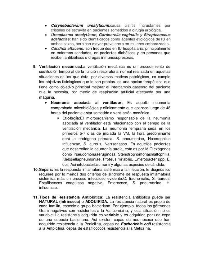 Corynebacterium urealyticum:causa cistitis incrustantes por cristales de estruvita en pacientes sometidos a cirugía urológ...