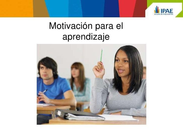 Taller de  motivación para el aprendizaje Slide 3