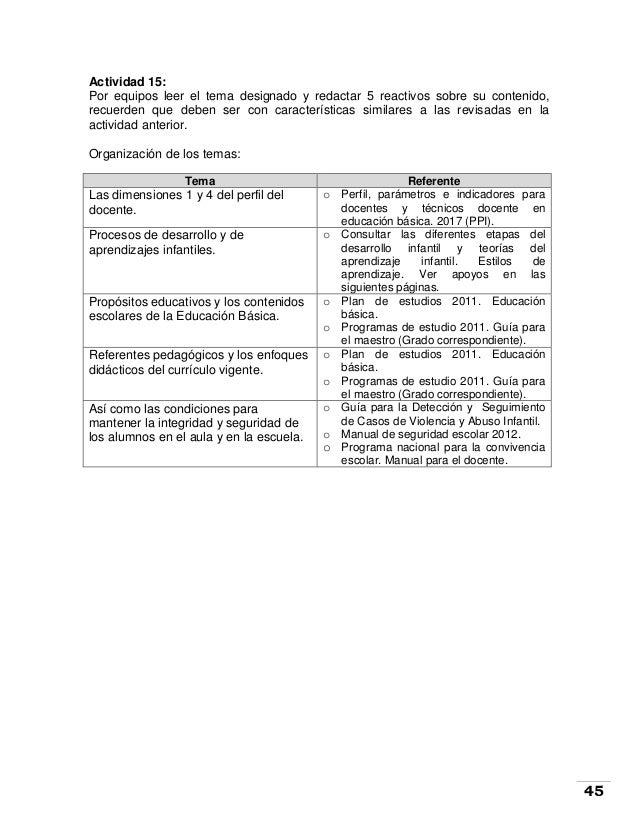 Cuadernillo de orientación para la Evaluación del desempeño docente 2…