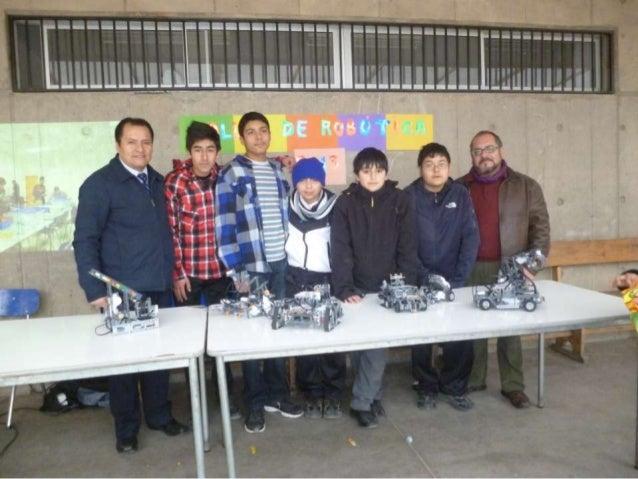 Taller de robótica en la fiesta de la cultura cev 2013