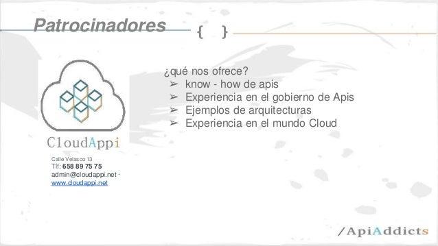 JSDays Desarrolla tu primera API Slide 3
