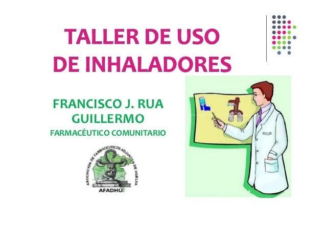 FRANCISCO J. RUA  GUILLERMOFARMACÉUTICO COMUNITARIO