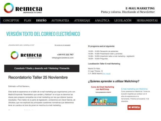 Taller e-mail marketing: Vende y Fideliza