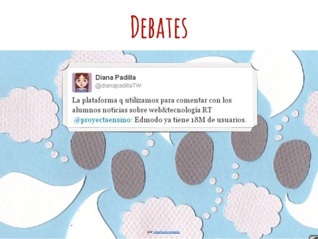 Debates por opensourceway