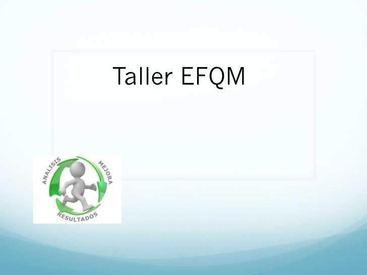 Taller EFQM
