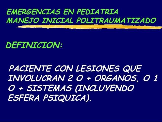 Taller emergencias en Pediatria