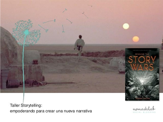 Taller Storytelling:empoderando para crear una nueva narrativa