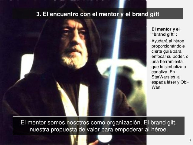 3. El encuentro con el mentor y el brand gift                                                El mentor y el               ...
