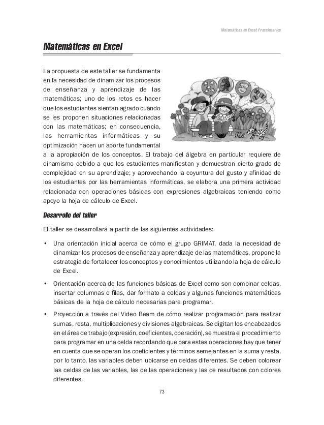 Talleres didácticos para la enseñanza de las matemáticas jica - pru…
