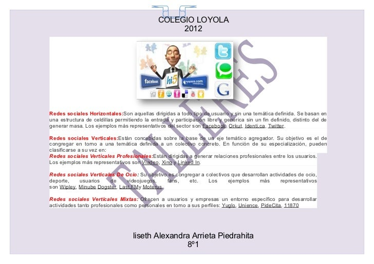 COLEGIO LOYOLA                                                65                                                   2012Red...