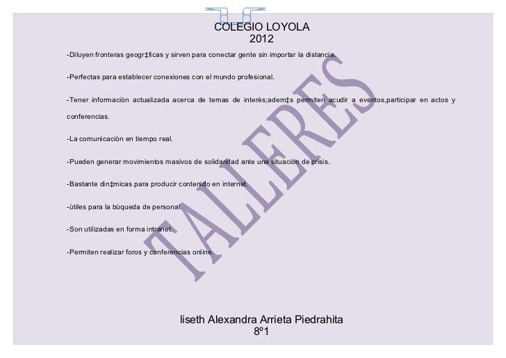 COLEGIO LOYOLA                                                    65                                                      ...