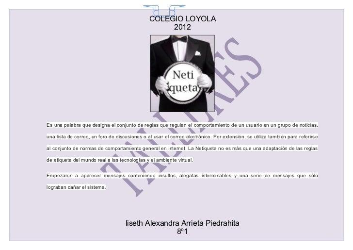 COLEGIO LOYOLA                                                 65                                                    2012E...