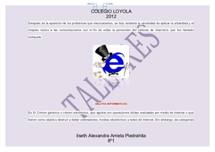 COLEGIO LOYOLA                                              65                                                 2012Después...