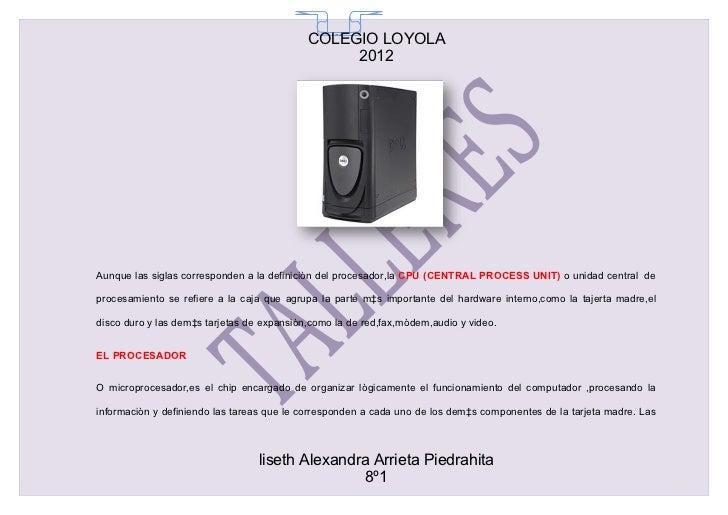 COLEGIO LOYOLA                                              65                                                 2012Aunque ...