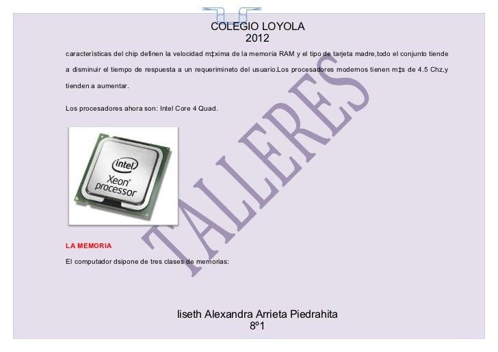 COLEGIO LOYOLA                                               65                                                  2012carac...