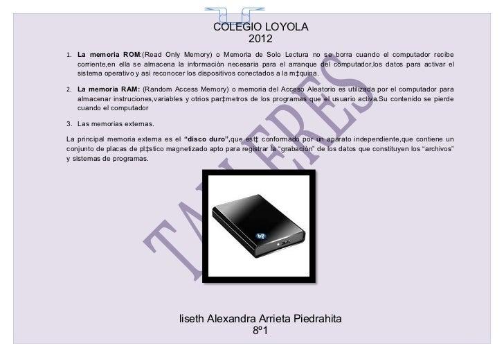 COLEGIO LOYOLA                                               65                                                  20121. La...