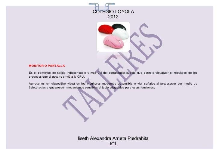 COLEGIO LOYOLA                                             65                                                2012MONITOR O...