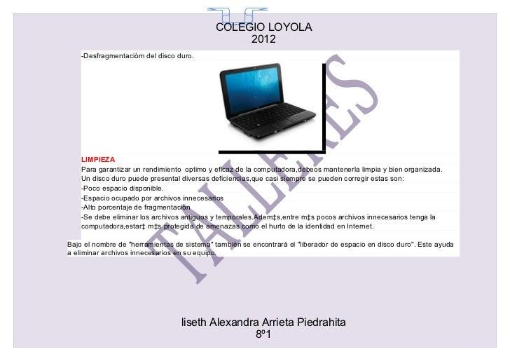 COLEGIO LOYOLA                                              65                                                 2012    -De...
