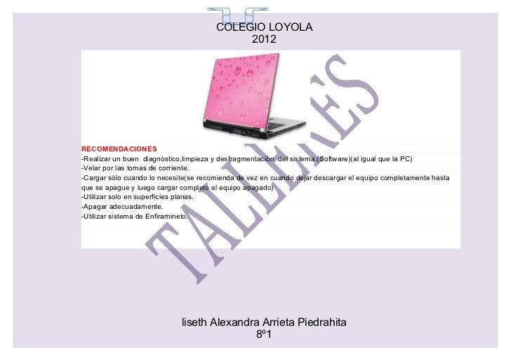 COLEGIO LOYOLA                                         65                                            2012RECOMENDACIONES-R...