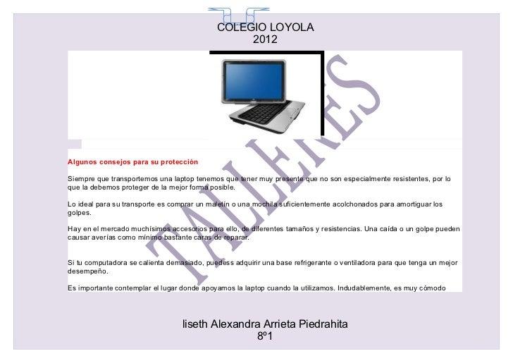 COLEGIO LOYOLA                                              65                                                 2012Algunos...