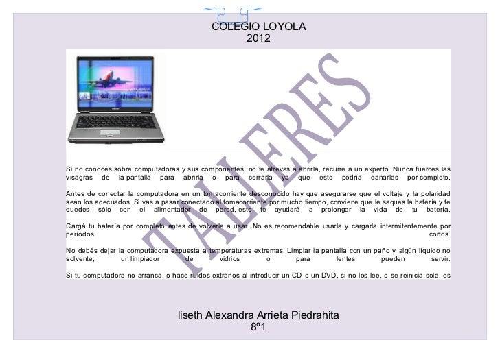 COLEGIO LOYOLA                                               65                                                  2012Si no...