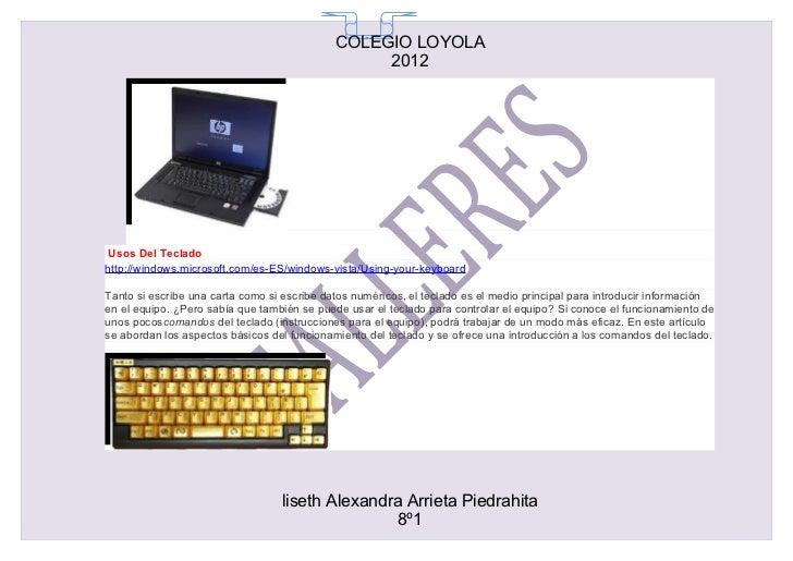 COLEGIO LOYOLA                                               65                                                  2012Usos ...