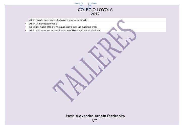 COLEGIO LOYOLA                                              65                                                 2012    Abr...