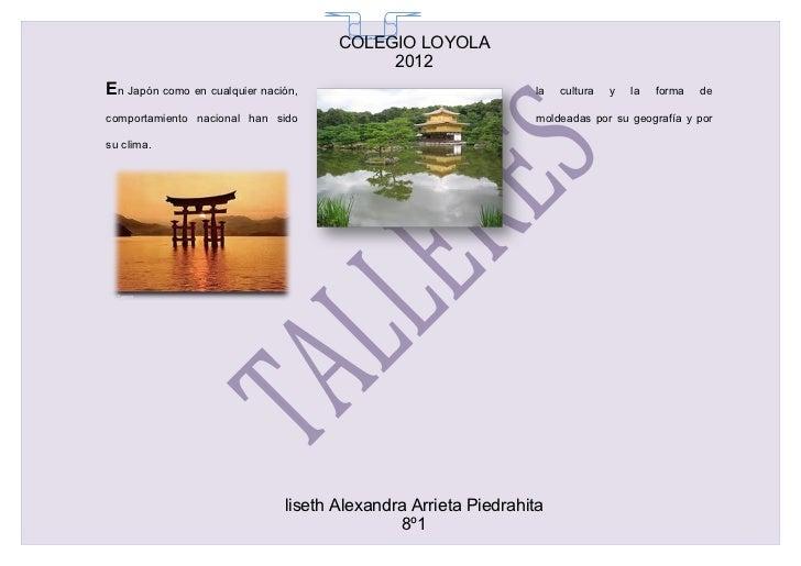 COLEGIO LOYOLA                                        65                                           2012En Japón como en cu...