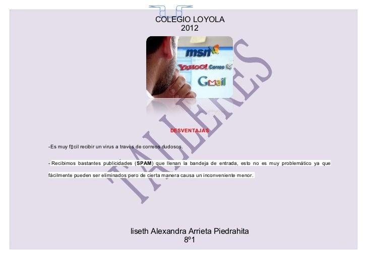 COLEGIO LOYOLA                                                65                                                   2012   ...