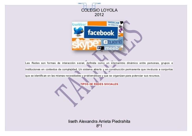 COLEGIO LOYOLA                                              65                                                 2012Las Red...