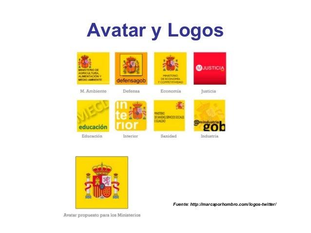 Avatar y Logos        Fuente: http://marcaporhombro.com/logos-twitter/