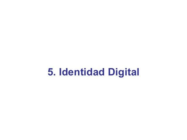 5. Identidad Digital