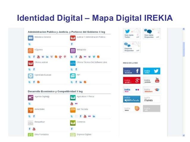 Identidad Digital – Mapa Digital IREKIA